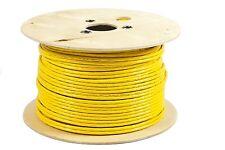 100m CAT7 duplex Netzwerkkabel Verlegekabel Kabel gelb KAT7 2x4x2xAWG23/1
