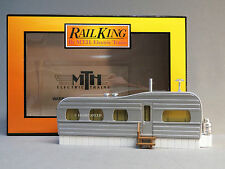 MTH RAIL KING STAINLESS MOBILE HOME O GAUGE house building park train 30-90530