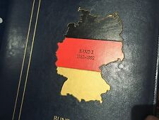 Germany Bundespost Leuchtturm Album Band 3 complete used 1982 - 1992 collection