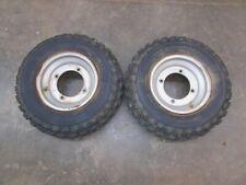 99 Yamaha Blaster 200 Banshee Warrior 350 Front Tires Wheels Rims 21x7-10 5071