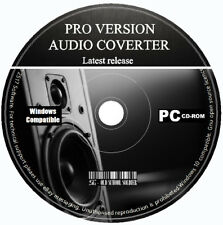 PRO Audio Converter ENCODER Editor estrarre i file audio da video MP3 CD PC wāw