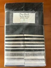 Jelly Roll Dry Brush Gray Fabric 100% Quilters Cotton 40 Piece Karot Gems Strips