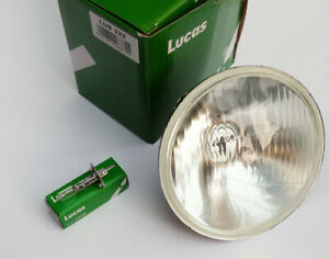 "Lucas LUB222 Classic Car 5 3⁄4"" H1 Head Lamp for Triumph, Jaguar, Rolls Royce"