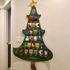 NEW Zachery Pottery Barn Kids Telluride Christmas Tree Advent calendar countdown