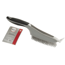 Harris Seriously Good DIY Decorating Preparation Hand Wire Brush with Scraper