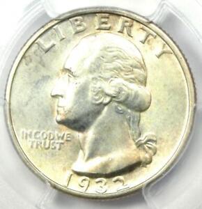 1932-S Washington Quarter 25C - PCGS Uncirculated Details (UNC MS) - Rare Coin!