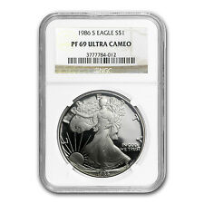 1986-S Proof Silver American Eagle PF-69 NGC - SKU #19927
