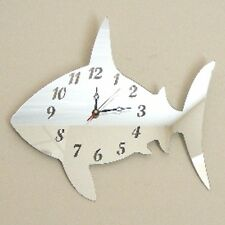 Shark Clock Acrylic Mirror (Several Sizes Available)