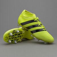 Adidas Men's Ace 16.2 Primemesh SG Football Boots Solar Yellow/Black/Silver NEW