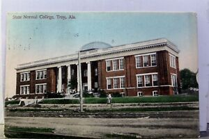 Alabama AL Troy State Normal College Postcard Old Vintage Card View Standard PC