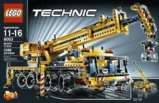 LEGO Technic Mobile Crane (8053) Retired LEGO Product!