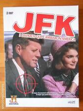 DVD JFK - 3 DISPAROS QUE CAMBIARON AMERICA (I8)