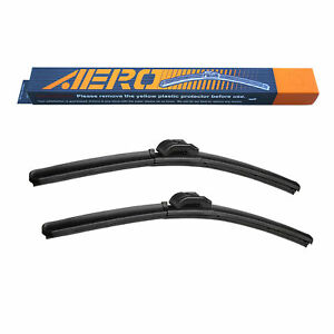 AERO BMW Alpina B7L xDrive 2014-2010 OEM Quality Windshield Wiper Blades