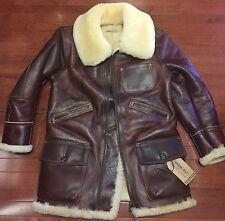 RJL Ltd REDFORD Jacket By Simmons Bilt Leather Horween Horsehide & Sheepskin