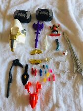 Power Rangers Accessories Weapons Crystals Trophies Misc Etc Lot 90?s Vintage