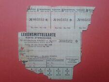 Poland - Lebensmittelkarte 1944 karta żywnościowa