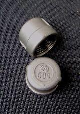 """STAINLESS STEEL END CAP 3/8"""" NPT PIPE EC-037"""