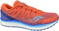 Saucony Freedom ISO 2 Laufschuhe Gr. 42,5 Orange Blau Sneaker Sportschuhe neu
