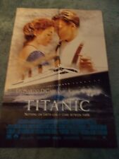 TITANIC(1993)LEONARDO DiCAPRIO ORIGINAL ONE SHEET POSTER