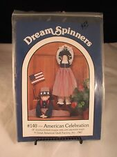Dream Spinners American Celebration Doll #140 Double Pattern, never used 1987