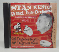 Stan Kenton and his Orchestra 23 Degrees North 82 Degrees West CD