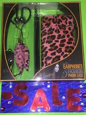 iHip Snooki JERSEY SHORE FAMILY VACATION Earphones & Phone Case NO ONE HAS THIS!