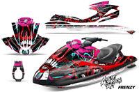 Yamaha Wave Runner Jet Ski Decal Wrap Sticker Graphics Kit 2002-2005 FRENZY RED