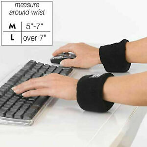 WristEase Rest Ergonomic Wrist Pad Carpal Tunnel Syndrome Relief Large Blue!