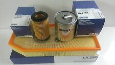 Mercedes ML270 CDi M-Class Diesel Oil Air Fuel Filter Mahle Service kit 2000-05