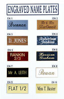 Deep Engraved House Name Plate Plaque Personalised Door Number