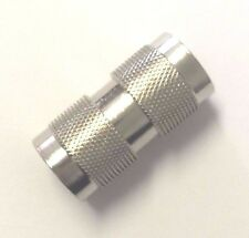 5 Pack N Male Plug to N Male Plug RF Coaxial Coax Adapter Connector UG-57