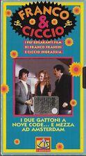 FRANCO E CICCIO - I DUE GATTONI A NOVE CODE E MEZZA AD AMSTERDAM (1972) VHS