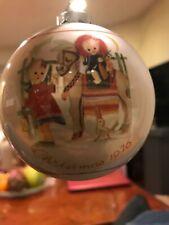 "Vintage Schmid Sister Berta Hummel Christmas Ball Ornament 1976 ""Sacred Journey"""