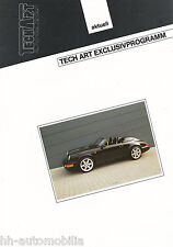 Bild-Prospekt Porsche 911 Speedster TechArt Exclusivprogramm 1994 Auto int Nr 6