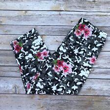 Pink Flower & Camouflage  CAPRI Women's Leggings OS One Size 2-12 Soft As LLR
