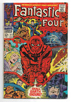 Fantastic Four 4 # 77 Marvel Comics 1968 Jack Kirby art / Silver Surfer/Galactus