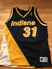 Reggie Miller 96-97 Champion Jersey Indiana Pacers 50th Anniversary 48