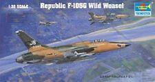 Trumpeter 1:32 Republic F-105G Wild Weasel Plastic Model Kit TSM2202