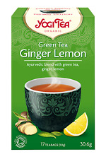 Yogi Herbal Organic Ayurvedic Tea - Green Tea Ginger Lemon - Buy More Save More