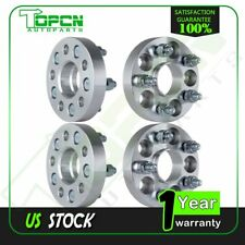 """4X 1"""" 25mm Thick Wheel Spacers 5x100 5 Lugs 12x1.5 For 1995-2005 Dodge Neon"""