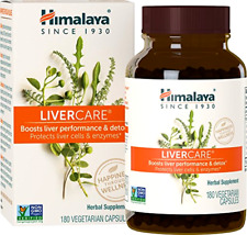 Himalaya LiverCare/Liv. 52  for Liver Cleanse and Liver Detox 375 mg 180 Capsule