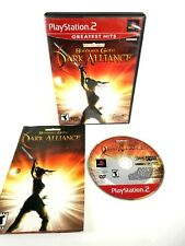 Baldur's Gate: Dark Alliance (Sony, Playstation 2, 2002) PS2, Complete, *TESTED*