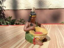 """Alte Elastolin - Masse Indianer / in Squaw """" Bei der Essen´s Vorbereitung 5cm"""