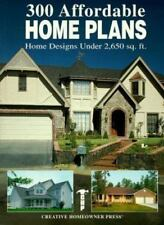 Three Hundred Affordable Home Plans : Home Designs under 2,650 Square Feet