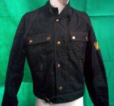 Belstaff Tourmaster Trophy Mens Black Jacket Biker Size L #202