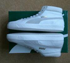 PUMA BASKET 68 MID - 369890 01 - WHITE/GREY - UK10/EUR44.5 - BRAND NEW WITH BOX