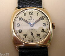 RARE MONTRE TUDOR EN OR ANCIENNE DE COLLECTION VERS 1930