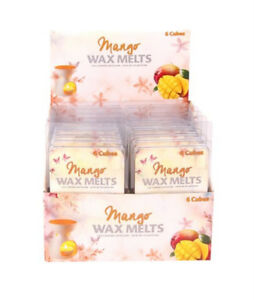 24 x 6 Pack Mango Wax Melts / scented candles for perfect home Aroma - Wholesale