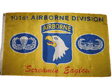 3x5 Yellow 101st Airborne Division Screamin' Screaming Eagles Flag 3'x5' Banner