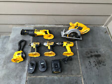 Dewalt 7 Piece 18 Volt Combination Set
